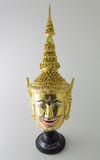Rama Miniature Mask. Rama is protagonist from Ramayana whose opponent is Ravana Stock Images