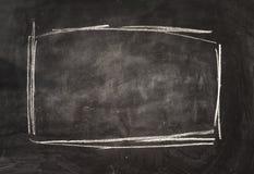 Rama na blackboard Obrazy Royalty Free