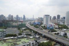 Rama nine in Bangkok city Stock Images