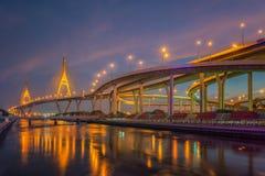 Rama nine bridge Stock Image