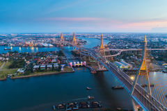 Rama nine bridge Stock Images