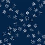 Rama płatki śniegu abstrakcjonistycznych gwiazdkę tła dekoracji projektu ciemnej czerwieni wzoru star white Projektować plakaty,  Obrazy Royalty Free