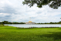 Rama 9 Park. And blue sky Stock Images