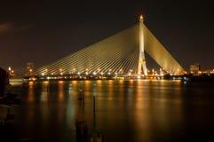 Rama8 ponte, Tailandia Immagine Stock Libera da Diritti