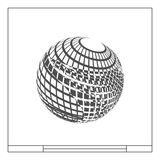 Rama projekta element sfera Zdjęcia Stock