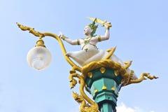 Rama sculpture at thai temple Stock Photography