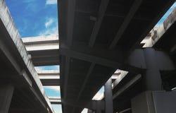 Rama 9 väg i Thailand arkivbilder