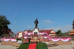 Rama V国王` s雕象 库存照片