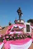 Rama V国王` s雕象 图库摄影