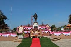 Rama V国王` s雕象 免版税库存照片