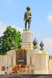 Rama VI国王纪念碑,曼谷,泰国 库存照片