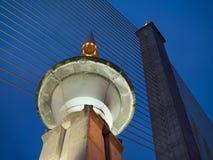 Rama VIII索桥 免版税库存图片