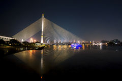 Rama VIII γέφυρα Στοκ εικόνες με δικαίωμα ελεύθερης χρήσης