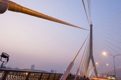 Rama VIII γέφυρα Στοκ εικόνα με δικαίωμα ελεύθερης χρήσης