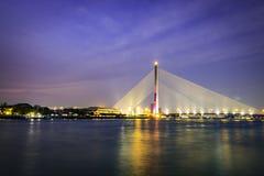 rama VIII γεφυρών στοκ εικόνα