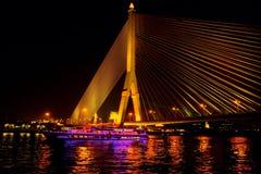 Rama VIII Brücke Stockfoto