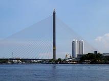 Rama VIII Brücke Lizenzfreies Stockfoto