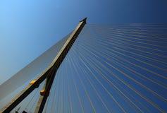 Rama VIII Brücke, Bangkok Stockbild