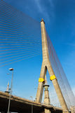 Rama VIII Brücke in Bangkok stockfoto