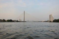 Rama VIII Brücke, Bangkok Stockfoto