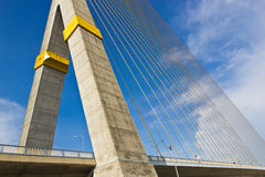 Rama VIII bridge in Bangkok Stock Photo
