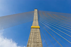 Rama VIII bridge in Bangkok Royalty Free Stock Image