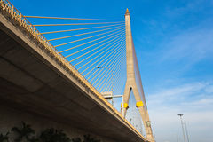 Rama VIII bridge in Bangkok Royalty Free Stock Photo