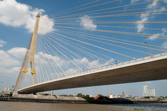 Rama VIII bridge , Bangkok,Thailand Stock Photos