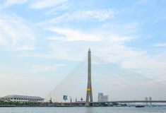 RAMA VIII bridge in Bangkok Thailand Stock Photography
