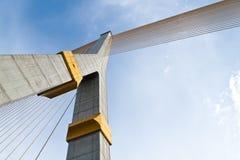 Rama VIII bridge in Bangkok, Thailand Stock Photos