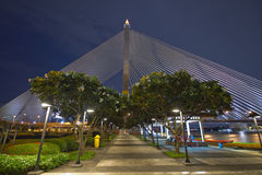 Rama VIII Bridge Royalty Free Stock Photo