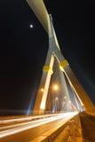 Rama VIII Bridge ,Thailand,Bangkok ,Thailand. Rama VIII Bridge at night Stock Images
