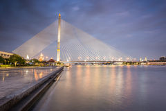 Rama VIII Bridge Royalty Free Stock Photography