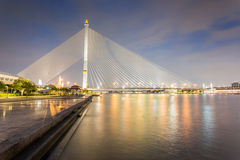 Rama VIII Bridge Royalty Free Stock Photos