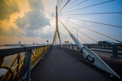 Rama VIII brug Bangkok, Thailand Stock Fotografie