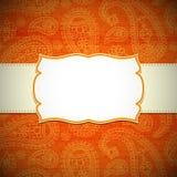Rama w Indiańskim stylu Obrazy Stock