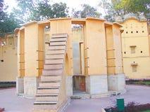 Rama Yantra - Astronomiczny instrument przy obserwatorium, Jantar Mantar, Jaipur, Rajasthan, India zdjęcie stock