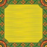 Rama z kwiecisty mandala Fotografia Stock