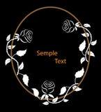 Rama z różami Zdjęcia Stock