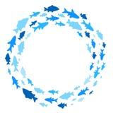 Rama z ryba Fotografia Stock