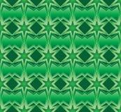 Ramadã seis testes padrões sem emenda da simetria da estrela ilustração stock