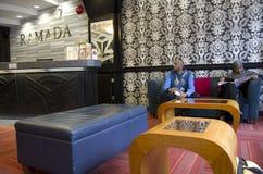 Ramada hotel lobby Stock Photography