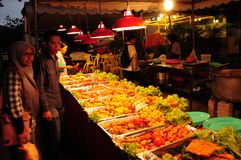 Ramadan义卖市场吉隆坡 库存照片