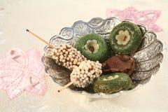 ramadan甜点 库存图片