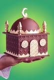 ramadan的巧克力 免版税图库摄影