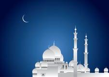 ramadan的晚上 向量例证