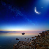 ramadan的背景 免版税库存图片