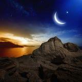 ramadan的背景 免版税库存照片