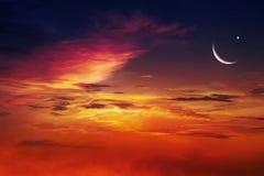 ramadan的背景 Eid穆巴拉克背景 库存照片