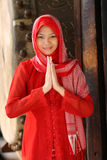 ramadan γυναίκα Ισλάμ Στοκ φωτογραφία με δικαίωμα ελεύθερης χρήσης
